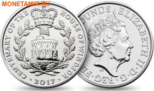 Великобритания Полный Годовой Набор 2017 (The 2017 UK Brilliant Uncirculated Annual Coin Set).Арт.60 (фото, вид 2)