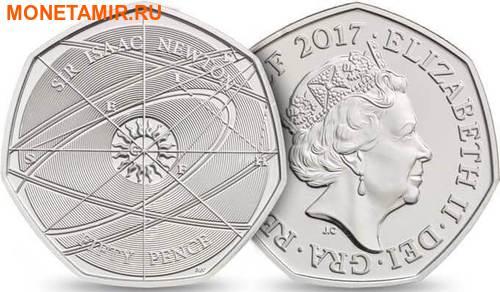 Великобритания Полный Годовой Набор 2017 (The 2017 UK Brilliant Uncirculated Annual Coin Set).Арт.60 (фото, вид 3)