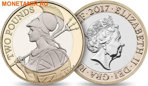 Великобритания Полный Годовой Набор 2017 (The 2017 UK Brilliant Uncirculated Annual Coin Set).Арт.60 (фото, вид 7)