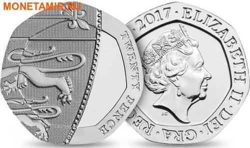 Великобритания Полный Годовой Набор 2017 (The 2017 UK Brilliant Uncirculated Annual Coin Set).Арт.60 (фото, вид 9)