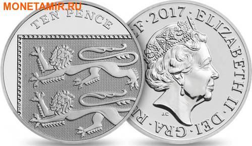 Великобритания Полный Годовой Набор 2017 (The 2017 UK Brilliant Uncirculated Annual Coin Set).Арт.60 (фото, вид 10)