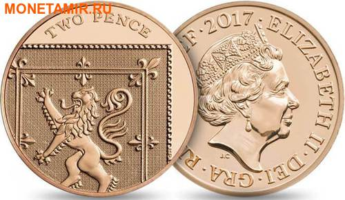 Великобритания Полный Годовой Набор 2017 (The 2017 UK Brilliant Uncirculated Annual Coin Set).Арт.60 (фото, вид 12)