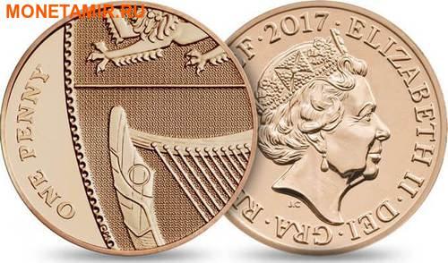Великобритания Полный Годовой Набор 2017 (The 2017 UK Brilliant Uncirculated Annual Coin Set).Арт.60 (фото, вид 13)