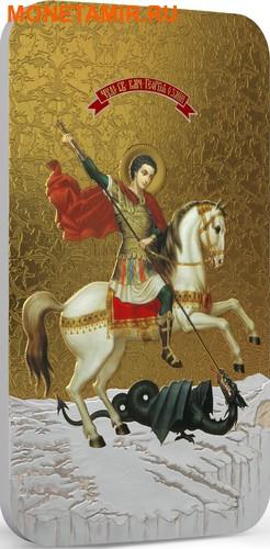 Ниуэ 2 доллара 2014.«Святой Георгий» серия «Православные Святыни».Арт.000463649019 (фото, вид 1)