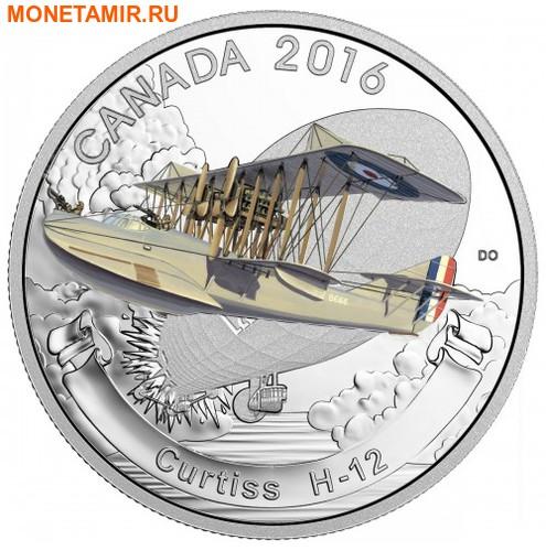 Канада 3х20 долларов 2016.Самолеты Первой Мировой войны.Арт.60 (фото, вид 1)