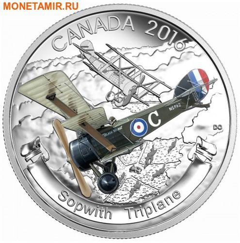 Канада 3х20 долларов 2016.Самолеты Первой Мировой войны.Арт.60 (фото, вид 2)