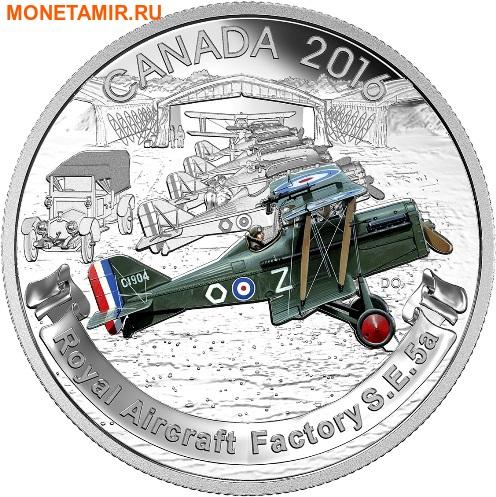 Канада 3х20 долларов 2016.Самолеты Первой Мировой войны.Арт.60 (фото, вид 3)