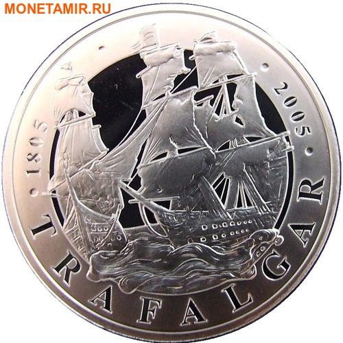 Великобритания 2х5 фунтов 2005.Адмирал Нельсон – Трафальгарское сражение.Арт.60 (фото, вид 2)