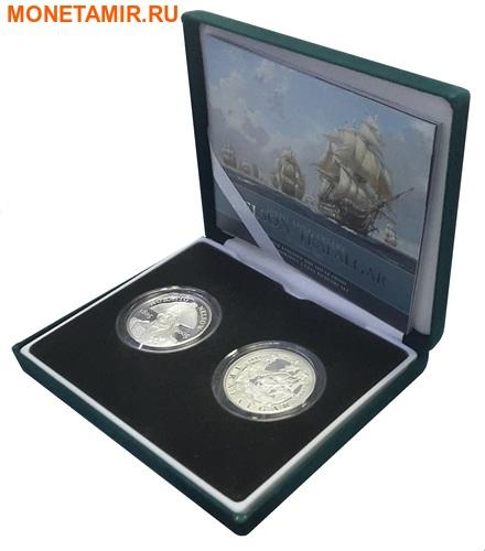 Великобритания 2х5 фунтов 2005.Адмирал Нельсон – Трафальгарское сражение.Арт.60 (фото, вид 4)