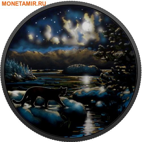 Канада 30 долларов 2017.Пантера в Лунном свете.Арт.60 (фото, вид 1)