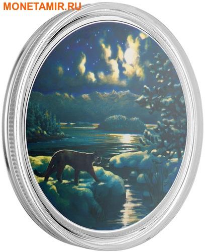 Канада 30 долларов 2017.Пантера в Лунном свете.Арт.60 (фото, вид 2)