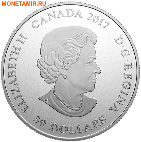 Канада 30 долларов 2017.Пантера в Лунном свете.Арт.60 (фото, вид 3)