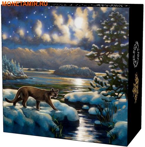 Канада 30 долларов 2017.Пантера в Лунном свете.Арт.60 (фото, вид 5)