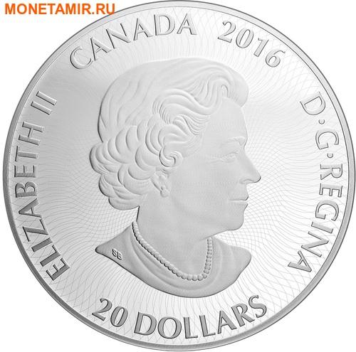 Канада 20 долларов 2016.Канадский калейдоскоп – Полярный медведь.Арт.60 (фото, вид 2)