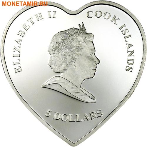 Острова Кука 5 долларов 2007.Диана - Принцесса Уэльская (1961 - 1997).Арт.60 (фото, вид 2)