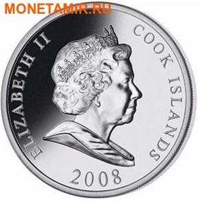 Острова Кука 10 долларов 2008.Генри Форд.Арт.60 (фото, вид 1)
