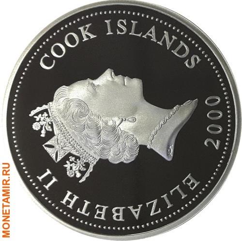 Острова Кука 1 доллар 2000.Оса.Арт.000122934364/60 (фото, вид 1)