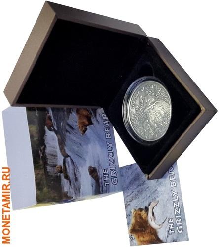Буркина Фасо 1000 франков 2016.Медведь Гризли (Grizzly).Арт.60 (фото, вид 2)