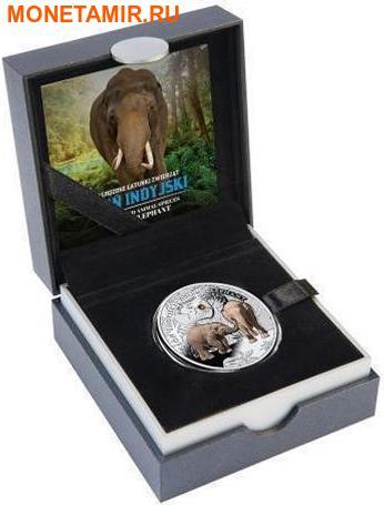 Ниуэ 1 доллар 2016.Азиатский Слон серия Вымирающие виды животных.Арт.60 (фото, вид 2)