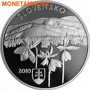 Словакия 20 евро 2010.Волки – Национальный парк Полонины.Арт.60 (фото, вид 1)