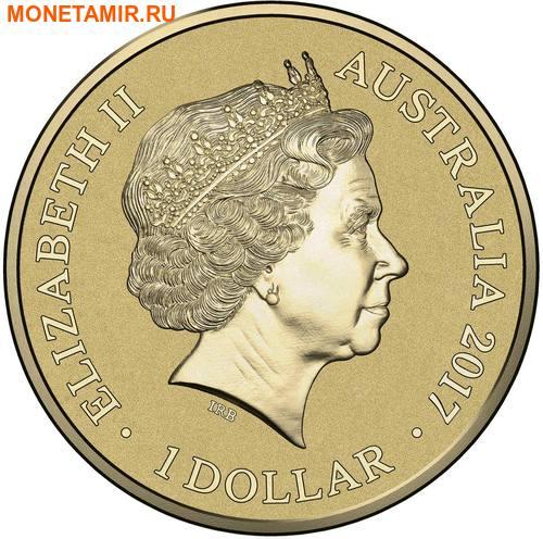 Австралия 1 доллар 2017.Алфавит – E – Страус (Блистер).Арт.000086253546/60 (фото, вид 1)