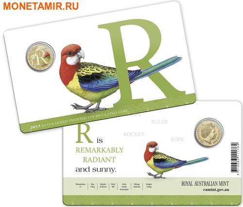 Австралия 1 доллар 2017.Алфавит – R – Попугай (Блистер).Арт.000086253559/60 (фото, вид 2)