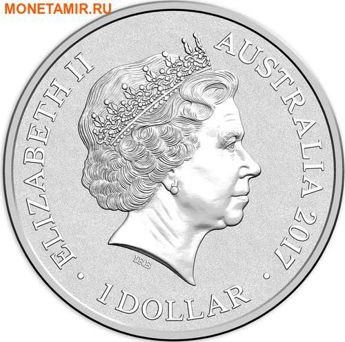 Австралия 1 доллар 2017.Алфавит – E – Страус.Арт.000272953519/60 (фото, вид 1)
