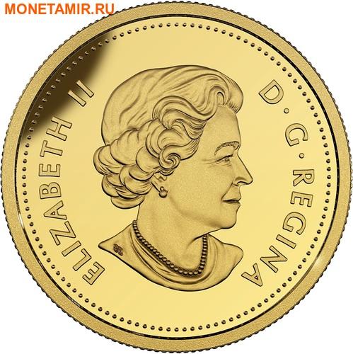 Канада 25 центов 2017.Лиса.Арт.60 (фото, вид 1)
