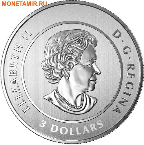 Канада 3 доллара 2017 Символы Канады – 150 лет празднования Канады (Блистер).Арт.60 (фото, вид 1)