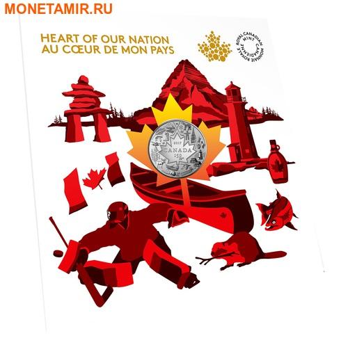 Канада 3 доллара 2017 Символы Канады – 150 лет празднования Канады (Блистер).Арт.60 (фото, вид 2)