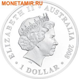Австралия 1 доллар 2008.Капитан Артур Филипп – Первый Флот.Арт.60 (фото, вид 1)