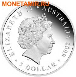Австралия 1 доллар 2009.Плавание.Арт.60 (фото, вид 1)