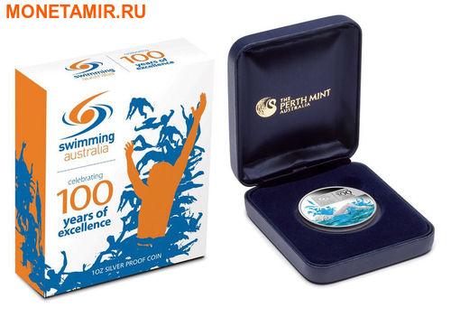 Австралия 1 доллар 2009.Плавание.Арт.60 (фото, вид 2)