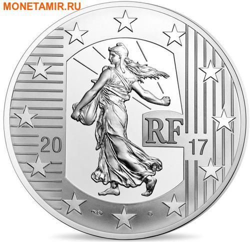 Франция 10 евро 2017.Луидор (Монеты на монетах).Арт.60 (фото, вид 1)