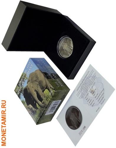 Буркина Фасо 1000 франков 2016 Слон (Эмаль).Арт.60 (фото, вид 2)