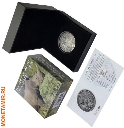 Буркина Фасо 1000 франков 2016 Носорог.Арт.60 (фото, вид 2)