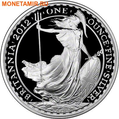 Великобритания 3,7 фунта 2012 Британия (Набор 4 монеты).Арт.001380040883/60 (фото, вид 1)