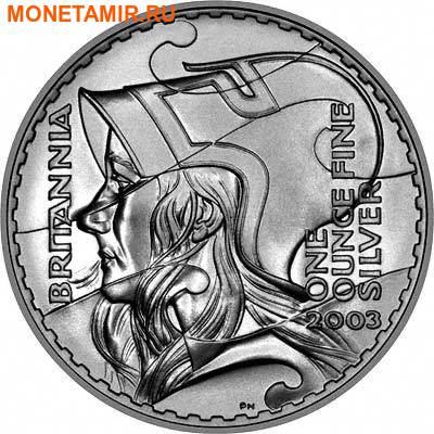 Великобритания 3,7 фунта 2003 Британия (Набор 4 монеты).Арт.001350040472/60 (фото, вид 1)