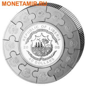 Либерия 100 долларов 2008 Апостол Павел (Пазл, Килограмм).Арт.004400053877/60 (фото, вид 1)