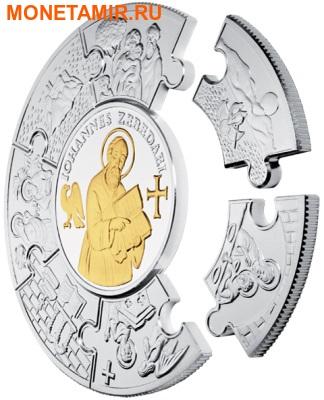 Либерия 100 долларов 2011 Апостол Иоанн (Пазл, Килограмм).Арт.009349544476/60 (фото, вид 1)