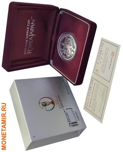 Корея Южная 10000 вон 2002 Футбол ФИФА 2002 Корея Япония (Стадион-Игрок бьющий по мячу).Арт.60 (фото, вид 2)