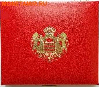 Монако 2004 8,88 евро Официальный годовой набор и 5 евро Святая Девота (9 монет).Арт.003475039221/60 (фото, вид 2)
