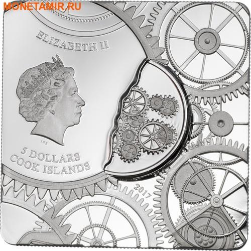 Острова Кука 5 долларов 2017 Капсула Времени (Time Capsule Coin).Арт.000607754008/60 (фото, вид 1)