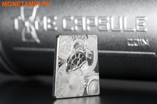 Острова Кука 5 долларов 2017 Капсула Времени (Time Capsule Coin).Арт.000607754008/60 (фото, вид 4)