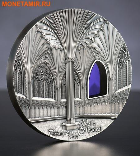 Палау 50 долларов 2017 Уэльский кафедральный собор (Wells Cathedral) серия Тиффани Арт (Килограмм).Арт.023284154018/60 (фото, вид 1)