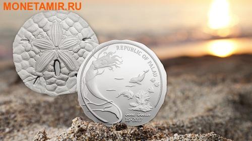 Палау 1 доллар 2017 Песочный доллар (Sand Dollar).Арт.000469054022/60 (фото, вид 2)