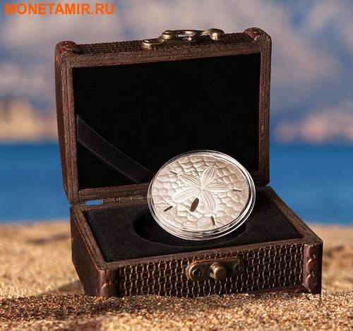 Палау 1 доллар 2017 Песочный доллар (Sand Dollar).Арт.000469054022/60 (фото, вид 4)