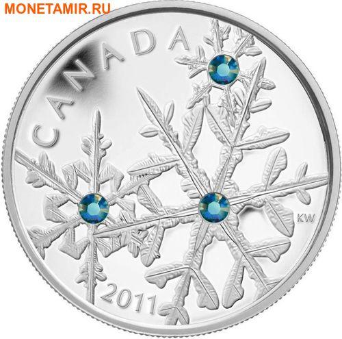 Канада 20 долларов 2011.Снежинка (Монтана).Арт.000374536229/60 (фото, вид 1)