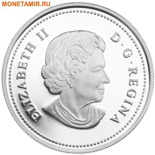 Канада 20 долларов 2011 Клен Капля Дождя (Canada 20C$ 2011 Maple Raindrop Swarovski Silver Proof).Арт.000303635124/67 (фото, вид 1)