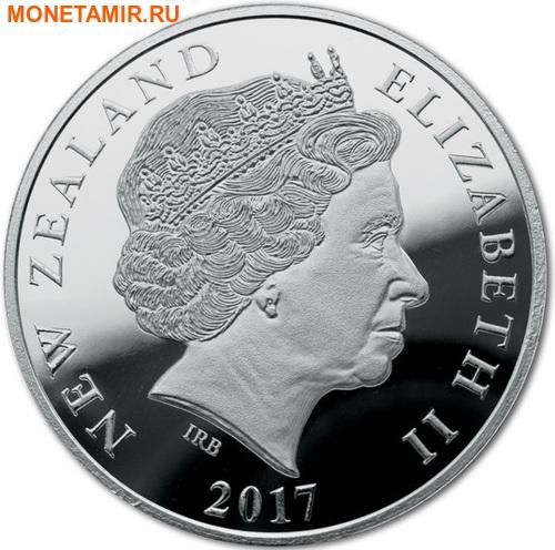 Новая Зеландия 5 долларов 2017 Сова.Арт.000511953982/60 (фото, вид 1)